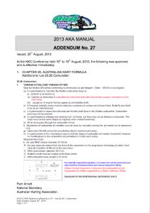 Addendum-27-rule-25.26.1-Carburettor