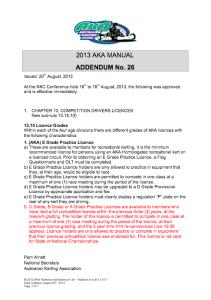 Addendum-26-rule-13.15.1f-Practice-Licences