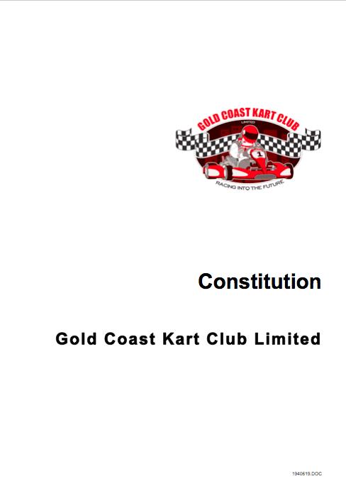 GCKC constitution