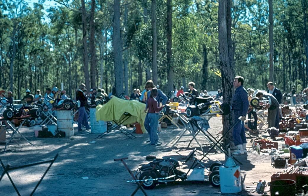 Gold Coast Kart Club Pits Original