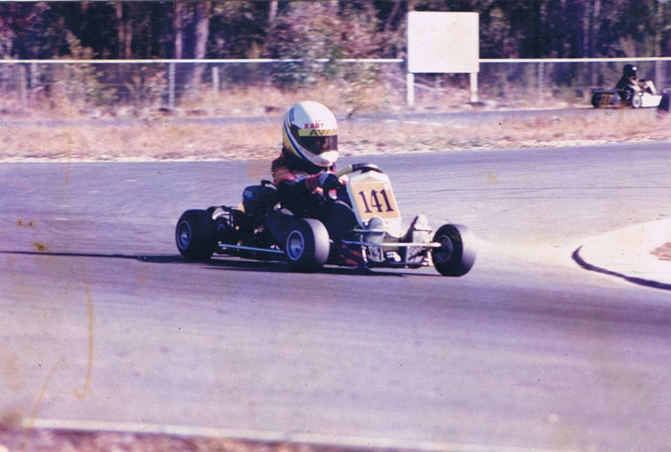 Benn Wilson Avanti Rookie GCKC Kart Prix 1990