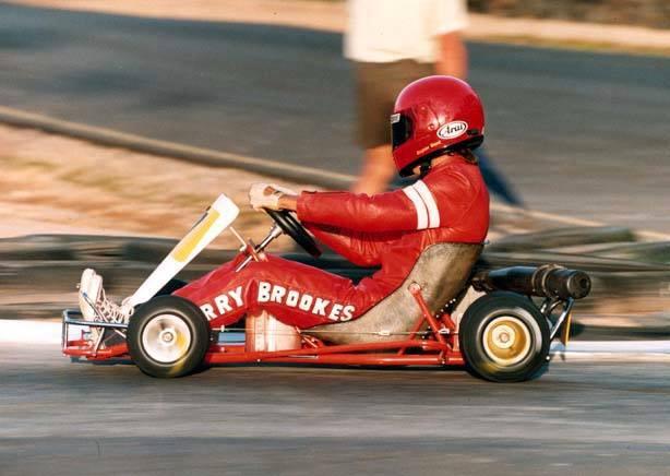 Gerry Brookes J Inter 1986 Arrow-Parilla