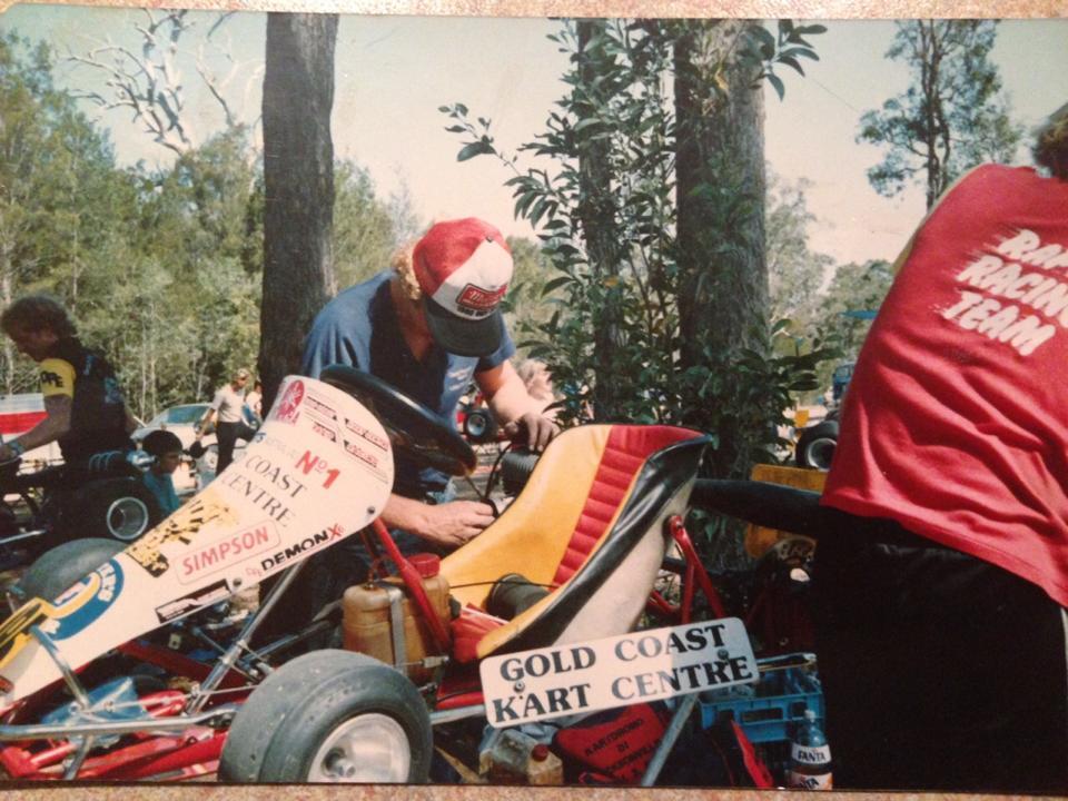 Gold Coast Kart Club late 80s-1