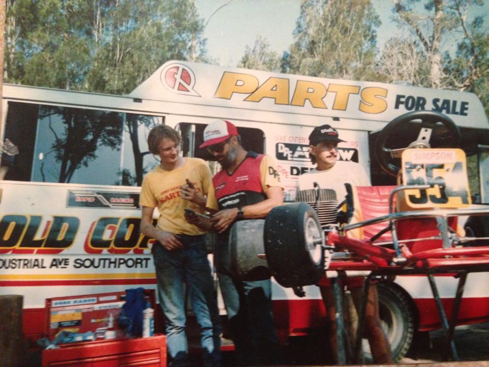 Gold Coast Kart Club late 80s-2